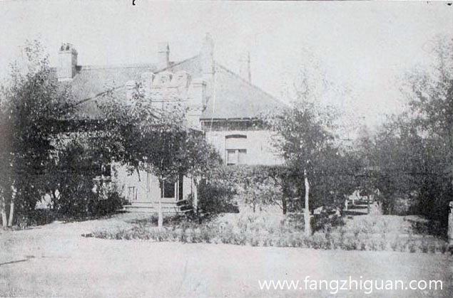 日伪时期的公主岭日本独立守备队司令部