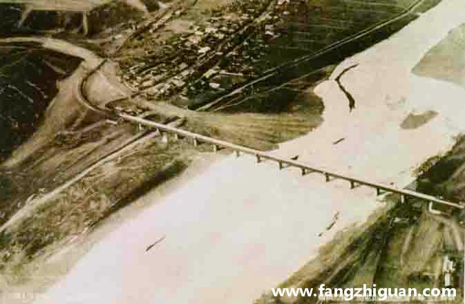 日伪时期的天图线国际铁桥