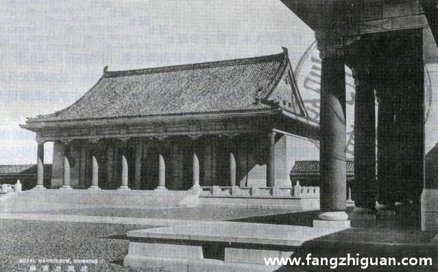 伪满洲国建国忠灵庙