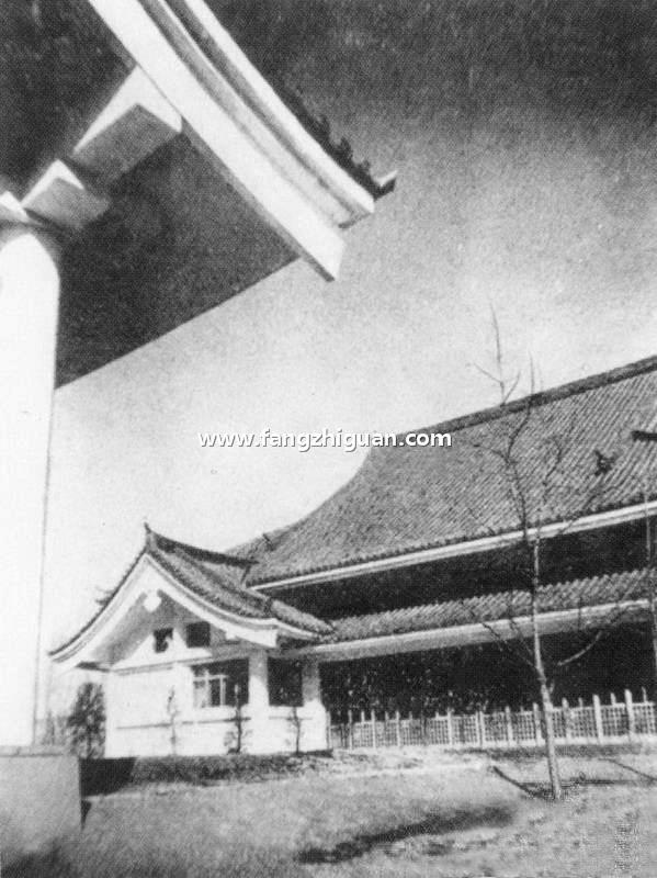 伪满时期的新京日本神武殿