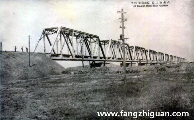 日伪时期的洮南线铁桥