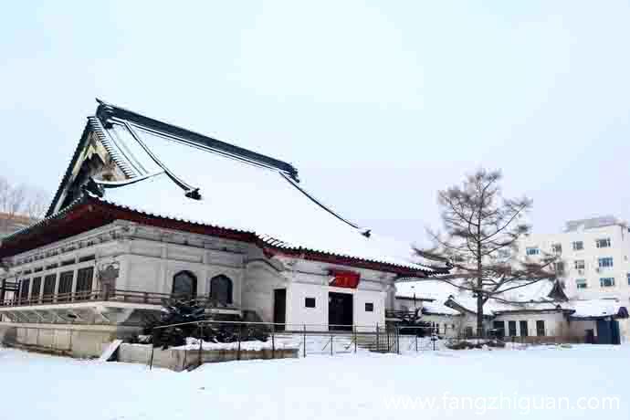 2013年1月1日,新京东本愿寺旧址。