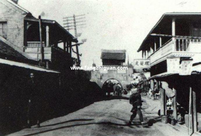 敦化城东门