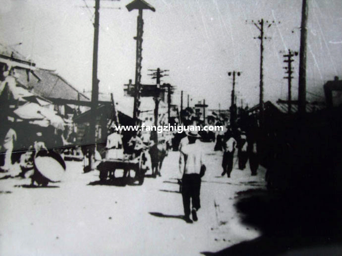 日伪时期的敦化市街