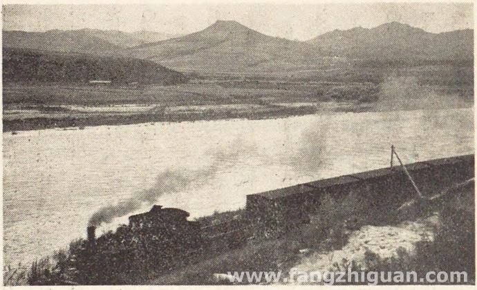 日伪时期的延边图们江