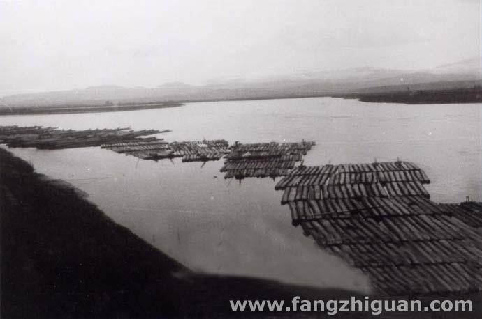 日伪时期的珲春河