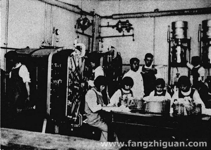 伪满时期的新京国立卫生技术厂