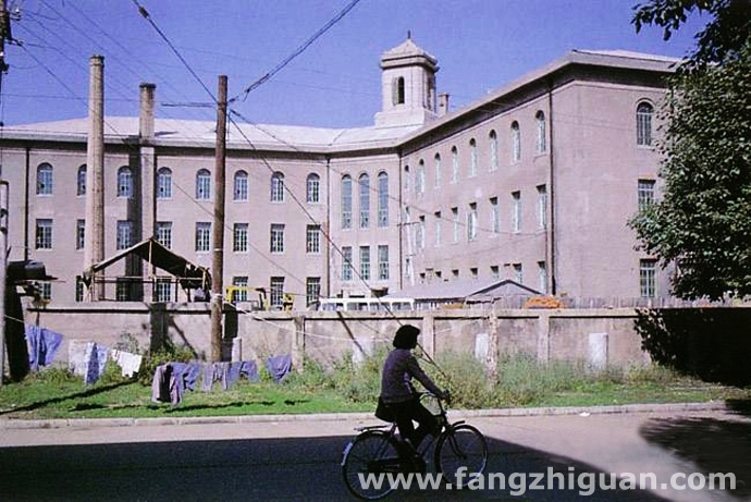 上世纪80年代时的伪满洲国蒙政部旧址