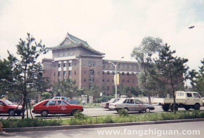 1995年,伪满洲国军事部旧址。