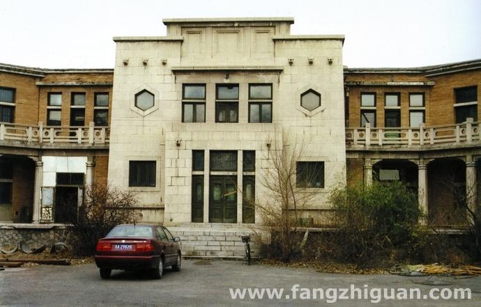 上世纪90年代时的伪满洲国外交部旧址