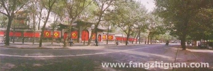 1985年,新京护国般若寺旧址。