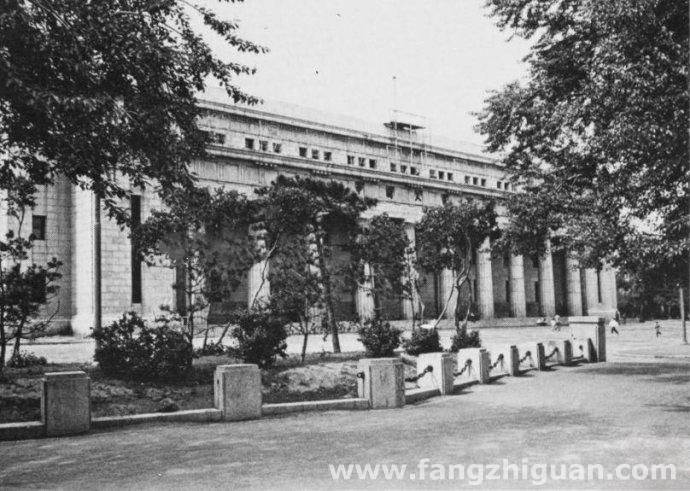 1959年,满洲中央银行旧址。