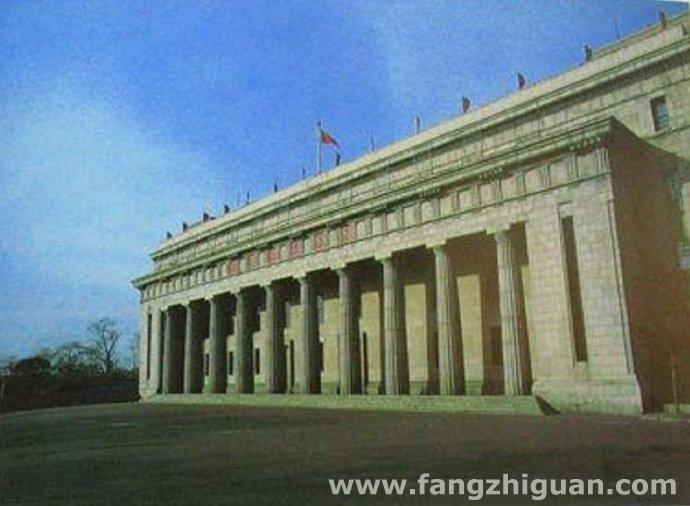 1982年,满洲中央银行旧址。