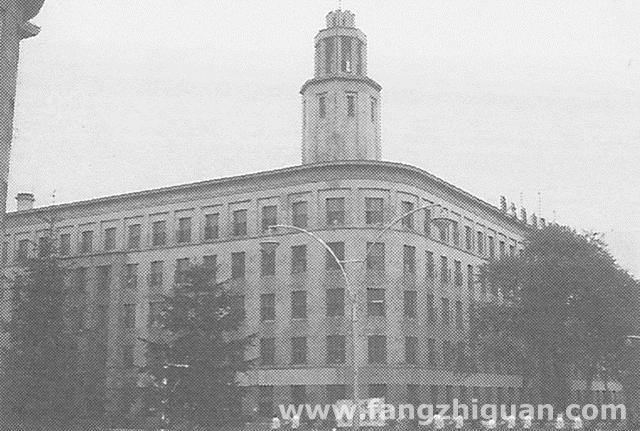 解放后的两张新京东京海上大厦旧址照片