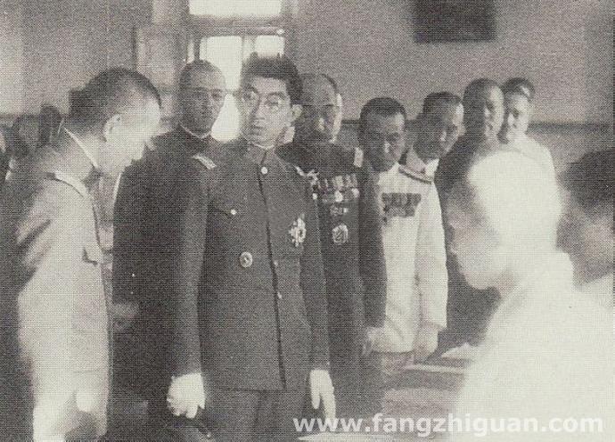 1934年6月8日午后3:30分,日本秩父宫雍仁亲王前往新京日本陆军卫戍病院慰问伤病军人。