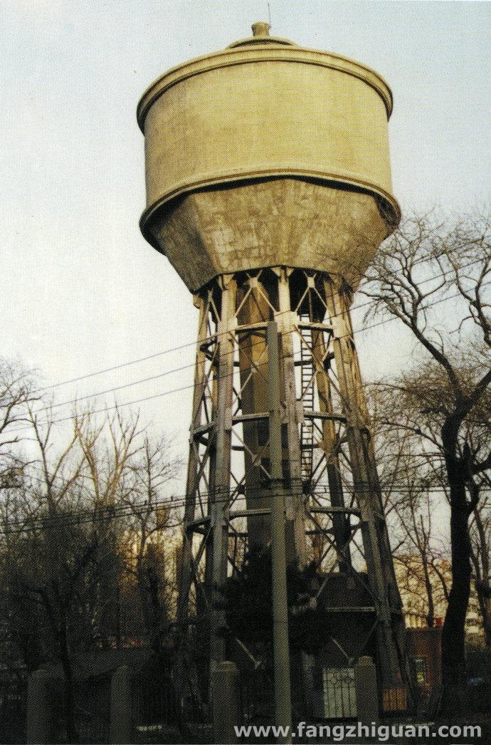 长春满铁西广场给水塔
