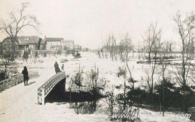 冬季的牡丹公园(新京)