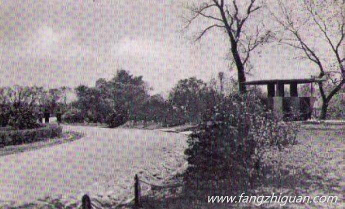 伪满时期的新京牡丹公园